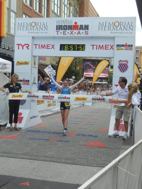 Dr  Vaclaw at the 2014 Memorial Hermann Ironman Texas | Foot